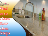 10 Vital Tips to Take Care of Your Kitchen Worktops