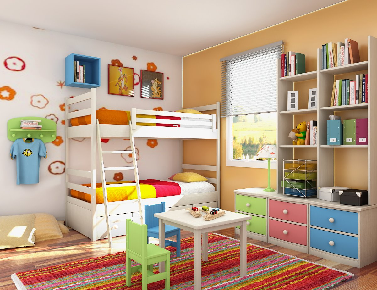 Inexpensive Decorating Ideas' for Kids Bedrooms